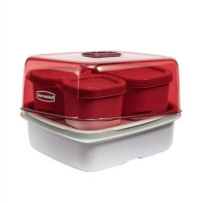 Rubbermaid Lunch Lunch Kit Container Food Tote