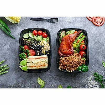 Food Storage & Organization Sets Meal 50 Pack Bento Lunch