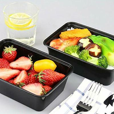 Food Sets Meal Prep Containers, 50 Pack Bento Lunch