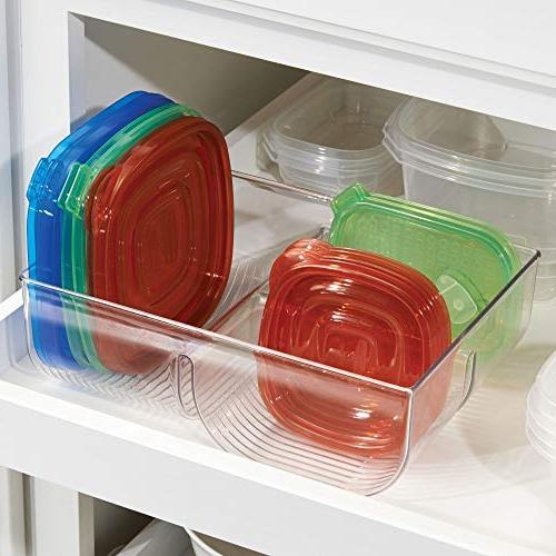 Lid Organizer Bin in Cupboards, Pantry Shelves Pack