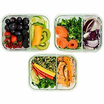 - Glass Meal Containers Lunchbox 3 Oz 97%