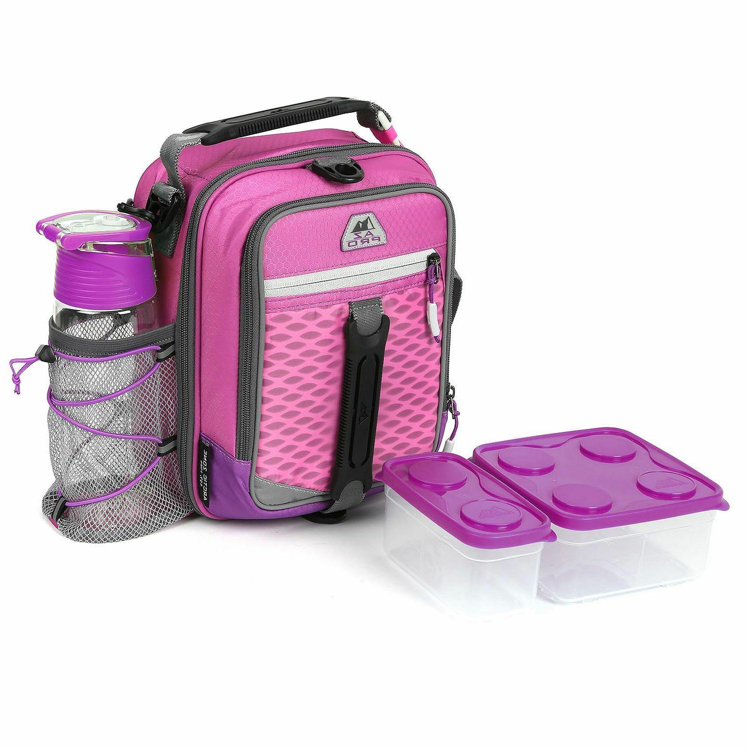Arctic Zone High-Performance Dual-Compartment Lunch Box, Pic