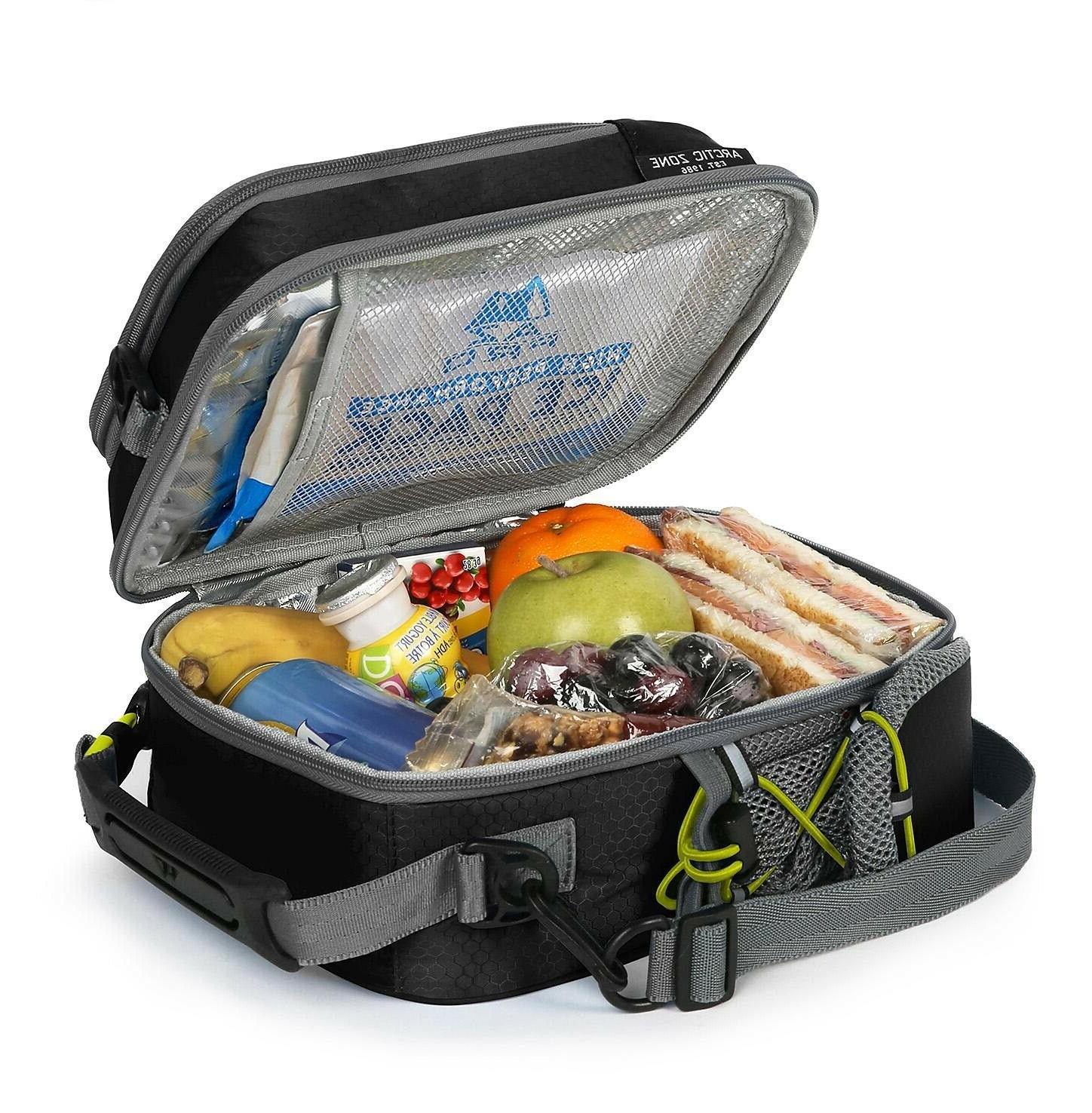 Arctic High-Performance Lunch Box Black