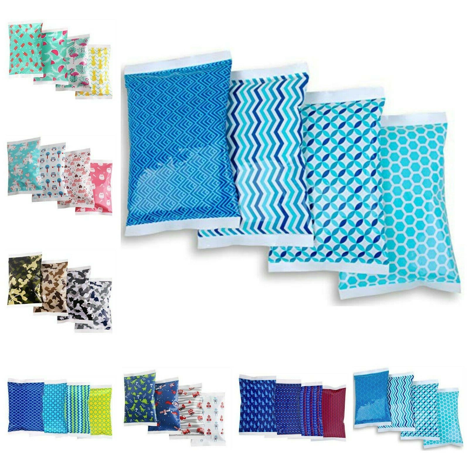 Ice Pack For Lunch Boxes Cooler Keeps Food Cold 4 Reusable P