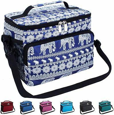 insulated cooler bag picnic beach hiking lunch