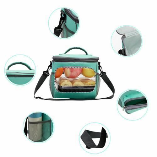 Insulated Tote Lunch Thermos Cooler Men