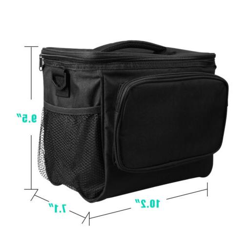 Insulated Food Lunch Bag Tote Lunch Thermos Men