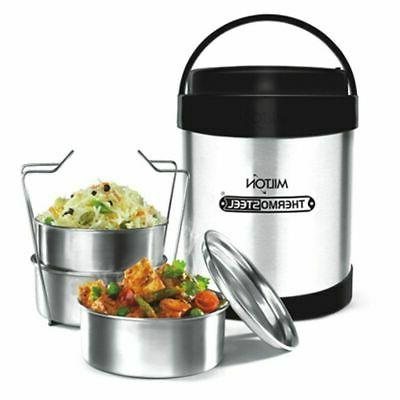 insulated hot tiffin royal thermosteel 3 compartments