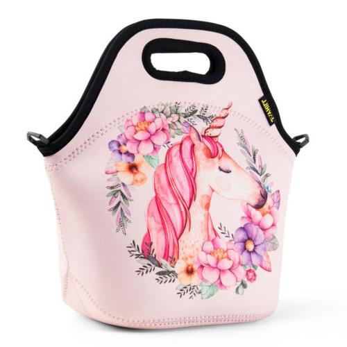 Neoprene Lunch Bag for Kids Women Insulated Lunch Container