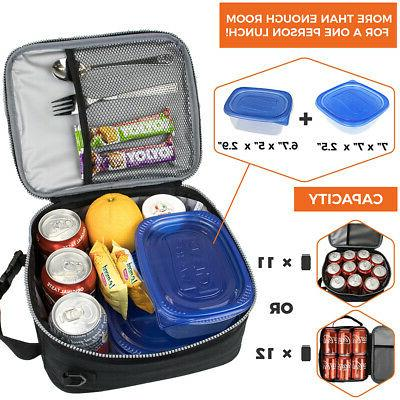 Insulated Lunch Bag Small Lunch Box Work Office Women