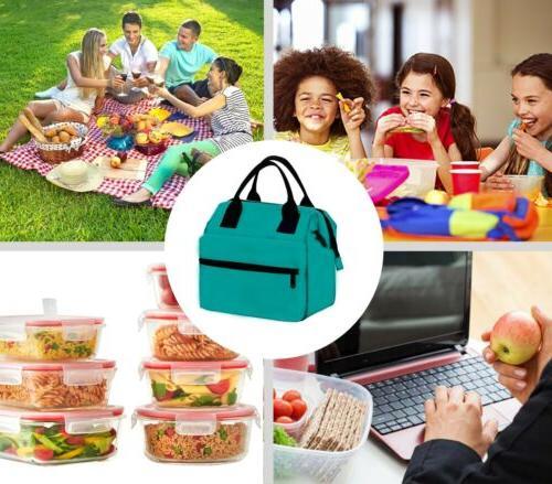 Earthwise Lunch Box Women Heavy Duty Oxford Nylon