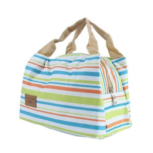 Insulated Lunch Bag for Cooler Hot Cold Tote US