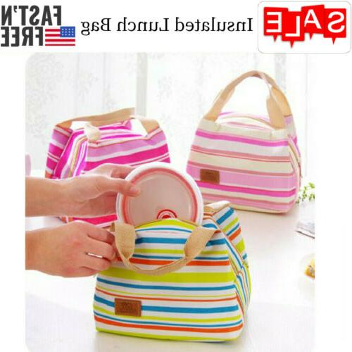 insulated lunch bag box for women men