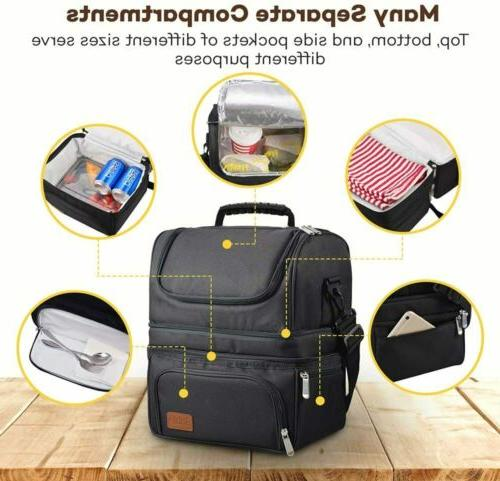 Sable Insulated Lunch Box 22L Large Capacity Reusable Waterp