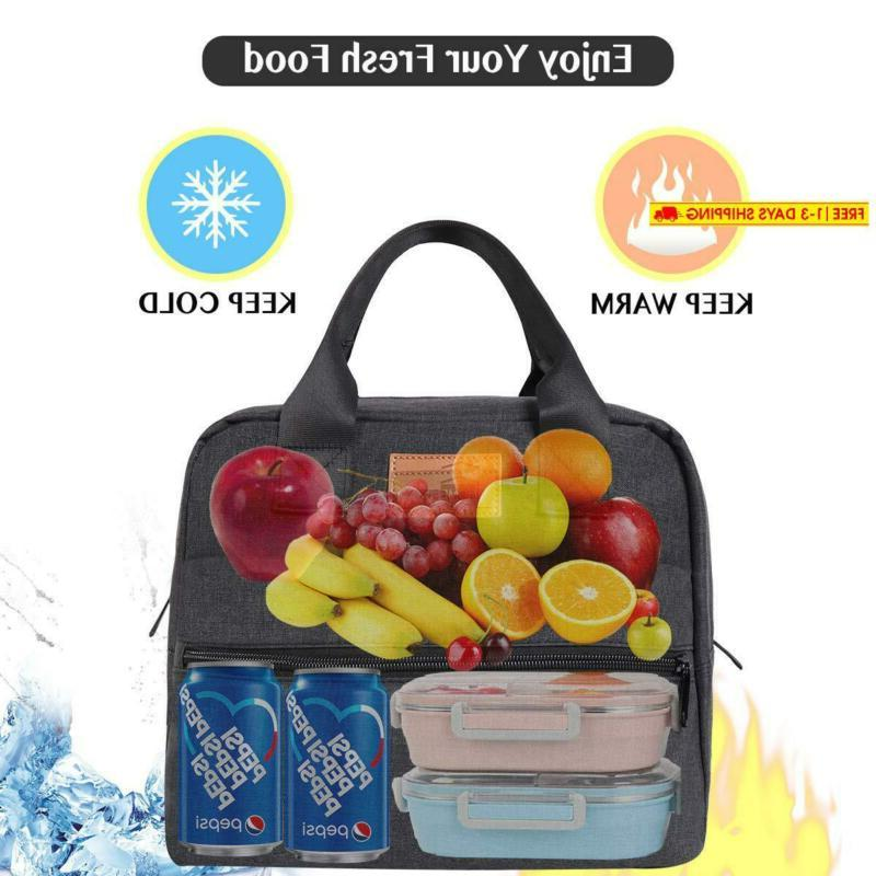 Homespon Insulated Lunch Lunch Box Cooler Bag Lunch Containe