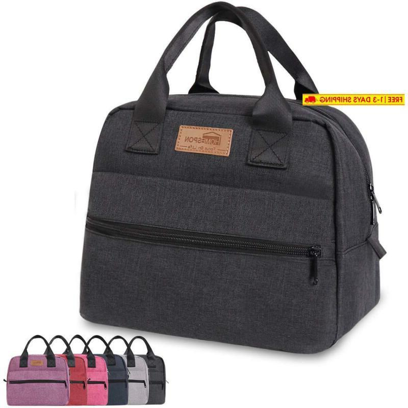 insulated lunch bag lunch box cooler tote