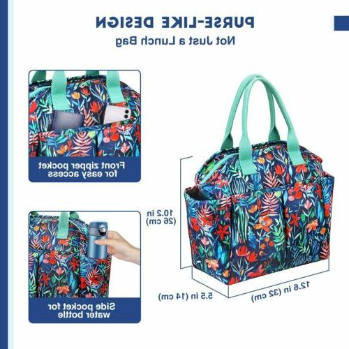 Insulated Bag Totes Cooler Box for Women Girl Office