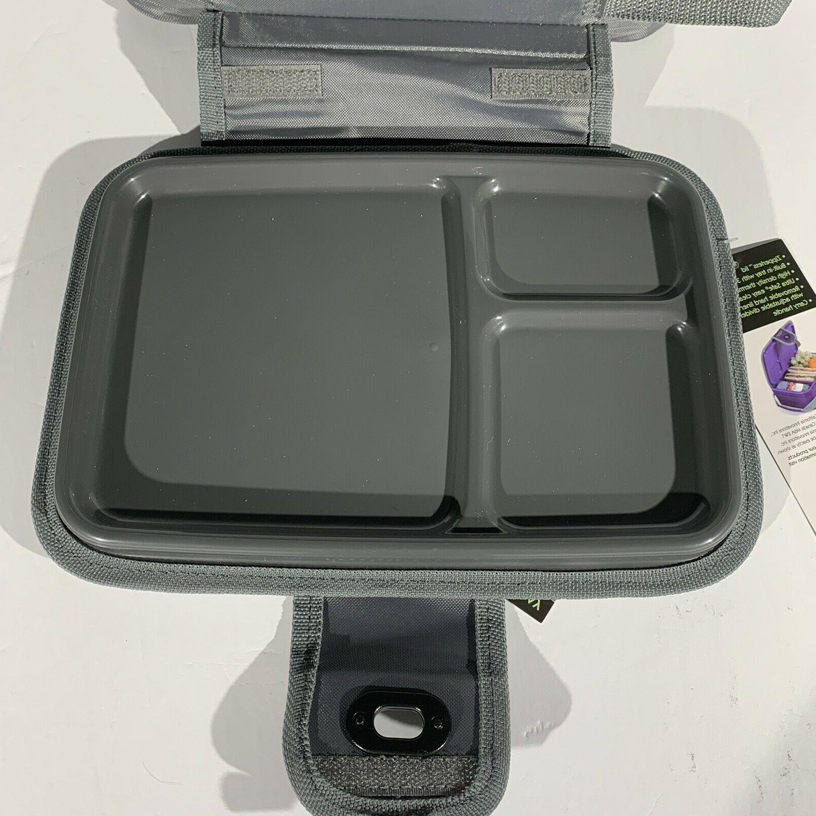 Arctic Zone Insulated Lunch Box Lid Built In School