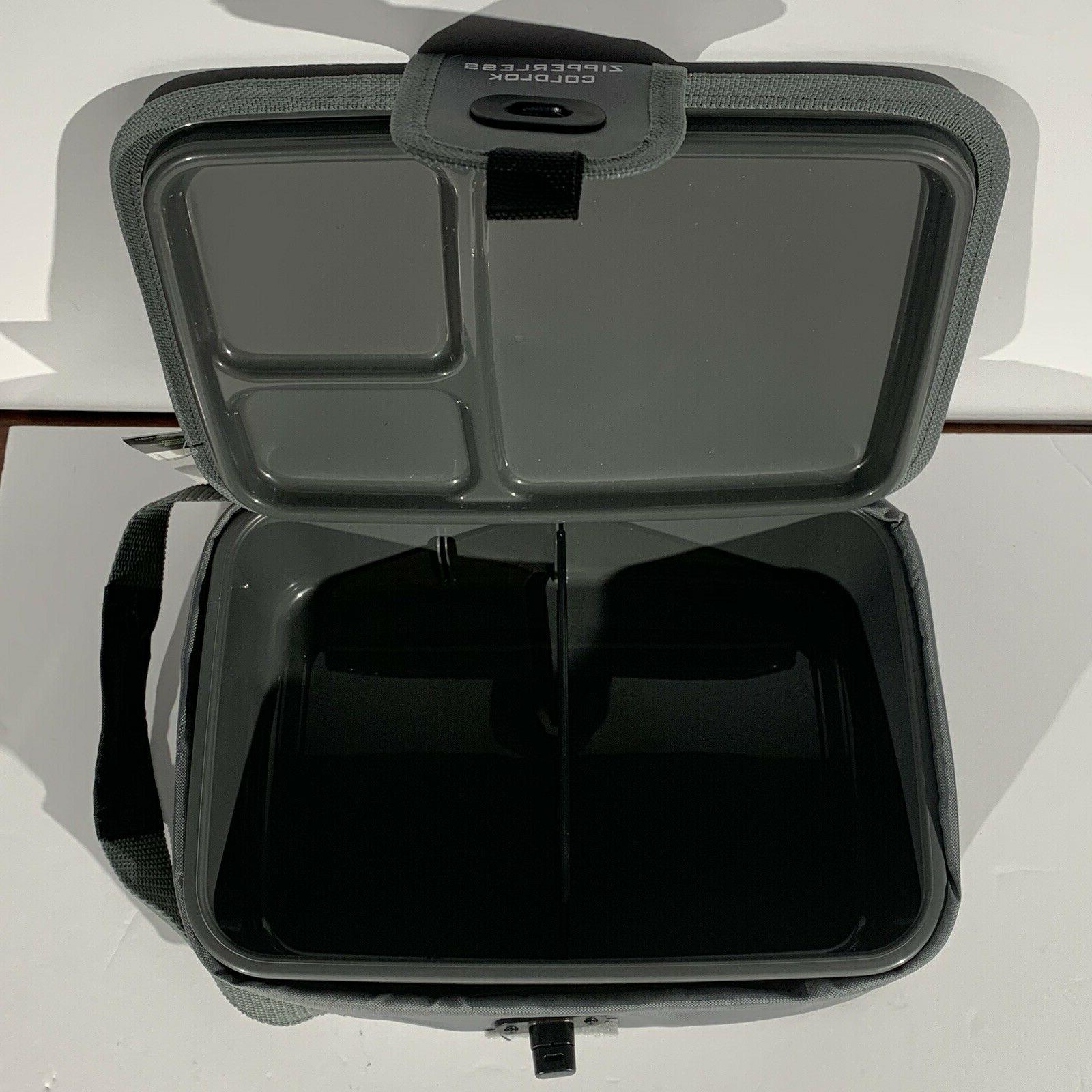 Arctic Insulated Lunch Box Zipperless In Lunch School