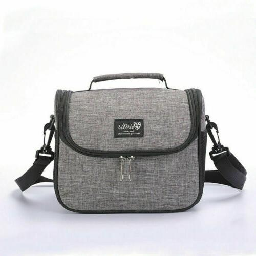 Insulated Lunch Bag For Kids Girl School Box Cooler