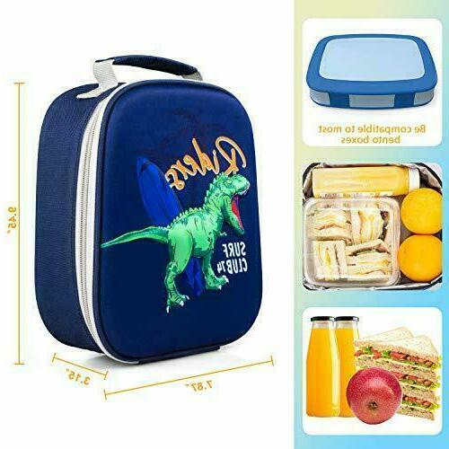 kids boys toddlers lunch box cooler insulated