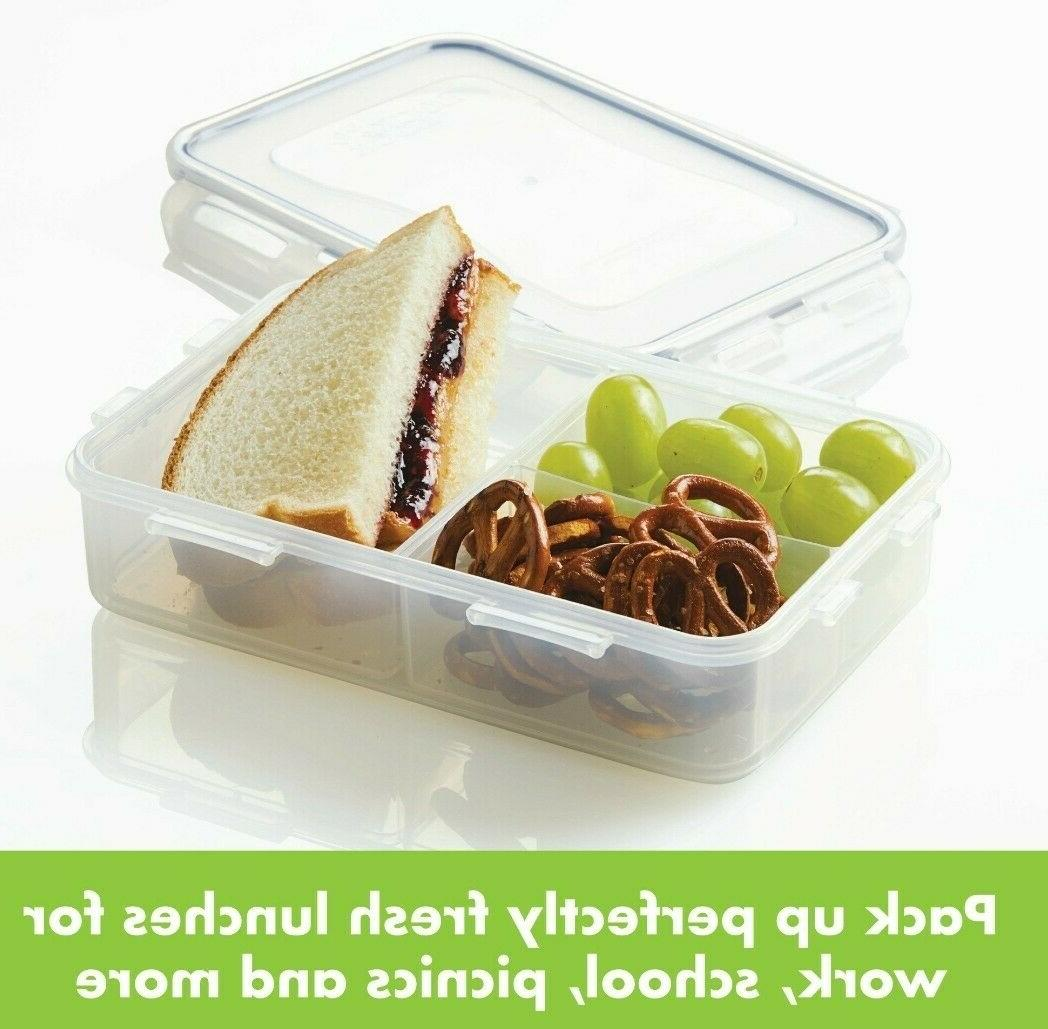 Lock & Rectangular Food Storage Box