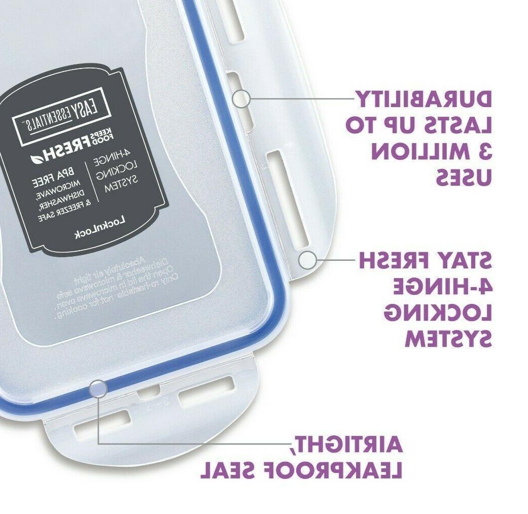 Lock & Lock Rectangular Box 27-oz Leakproof