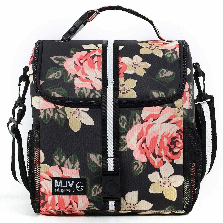 lunch bag for women adjustable shoulder water