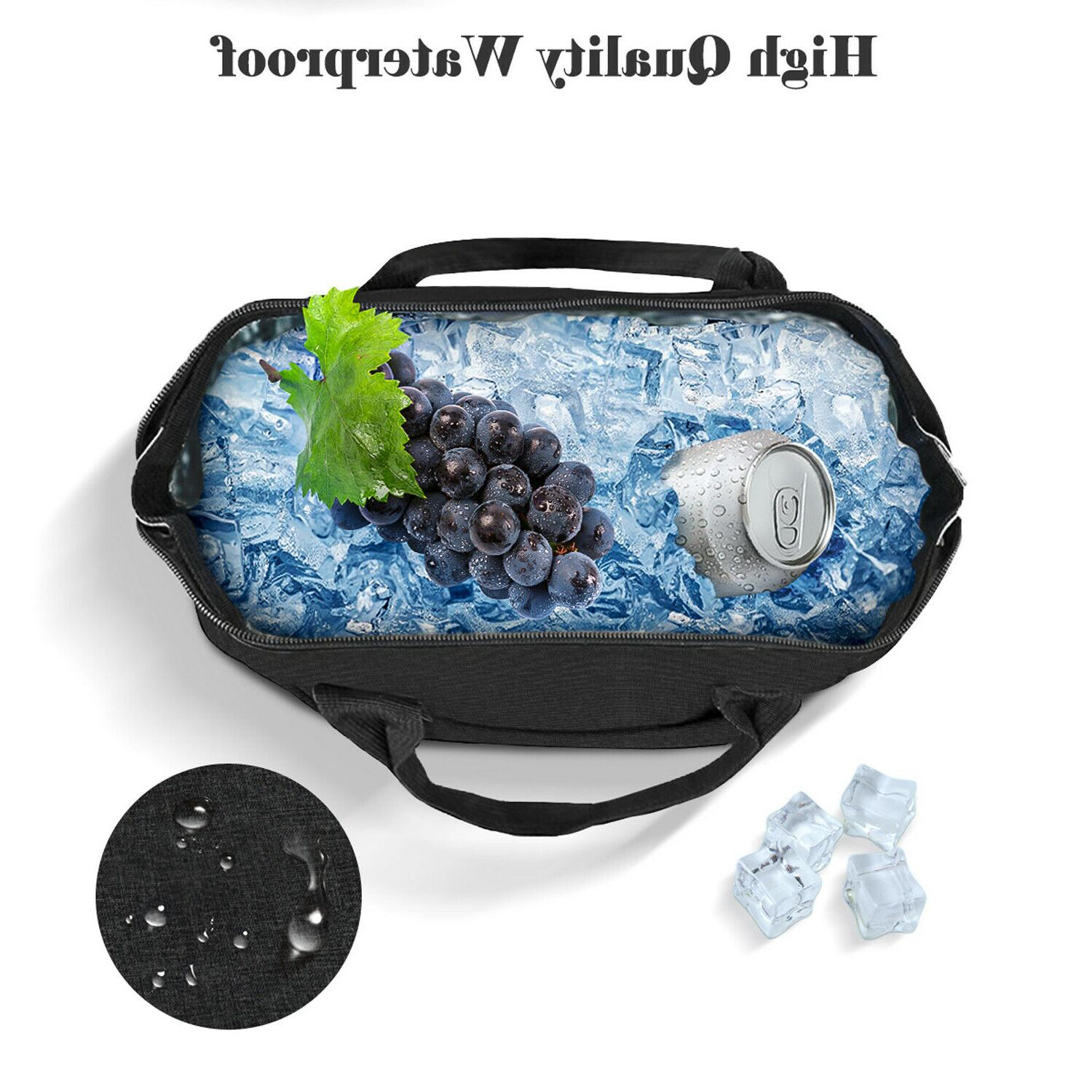 Insulated Bag Men Thermos Adults Leakproof Box