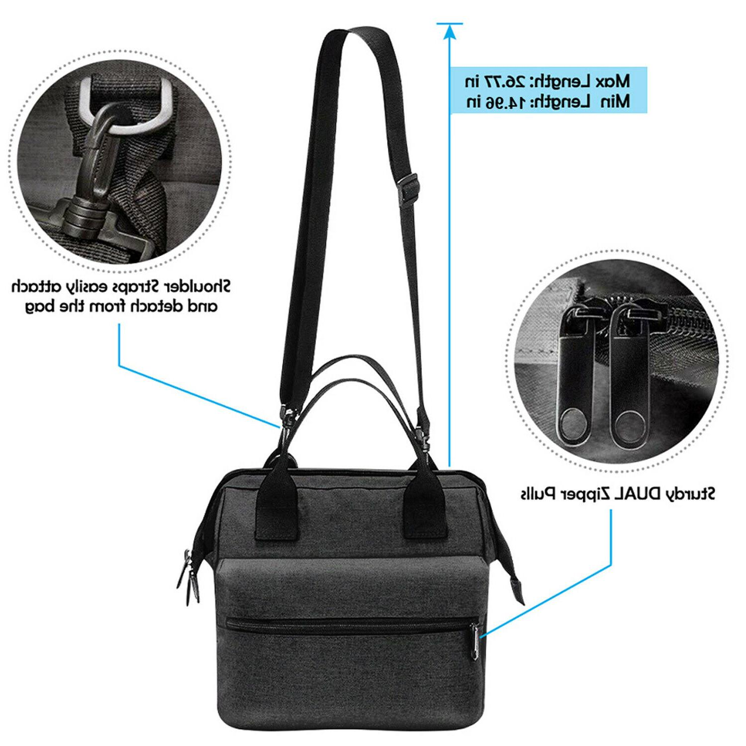 Insulated Lunch Bag Men Adults Leakproof Box