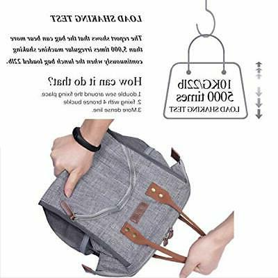 Lunch Bag Lunch Box Wide-Open Tote Bag Large Dura