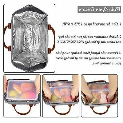 Lunch Insulated Lunch Box Bag Large Dura