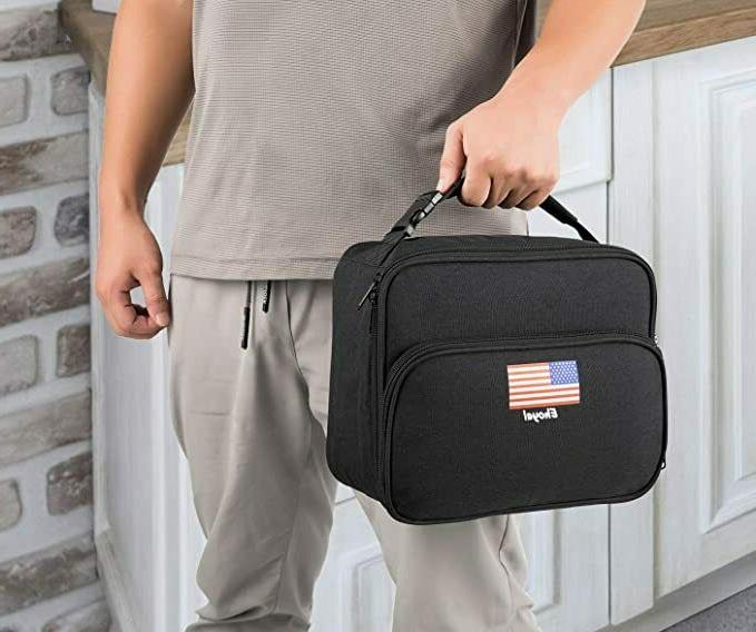 Lunch Bags Insulated Box: Waterproof Lunch Boxes