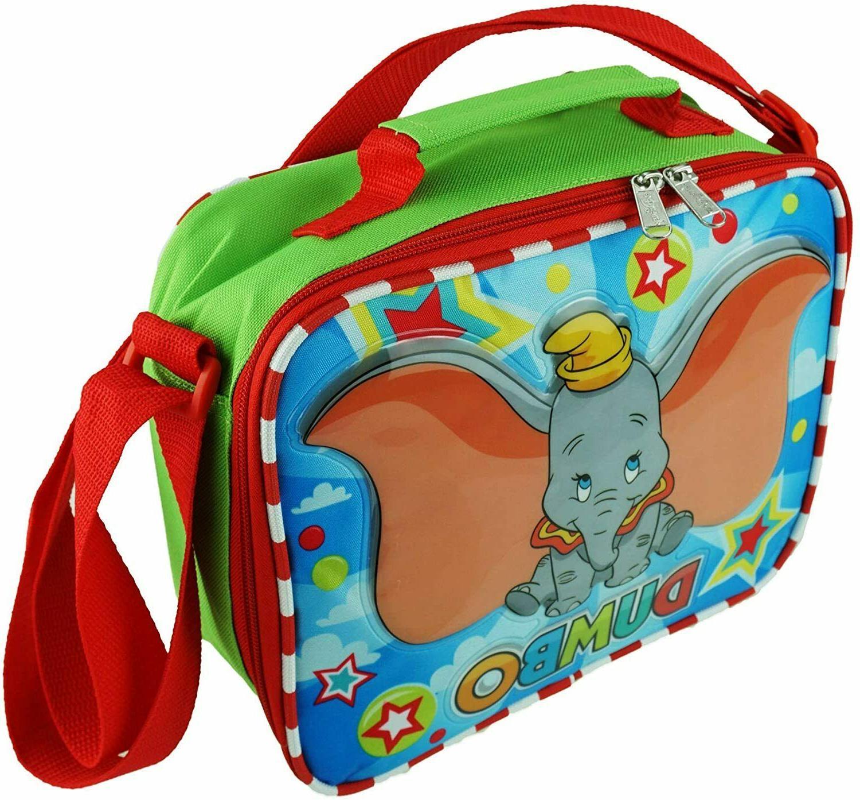 lunch box bag flying elephant a17333
