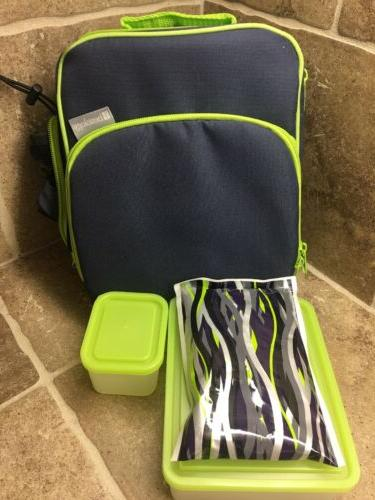 lunch box set insulated includes containers