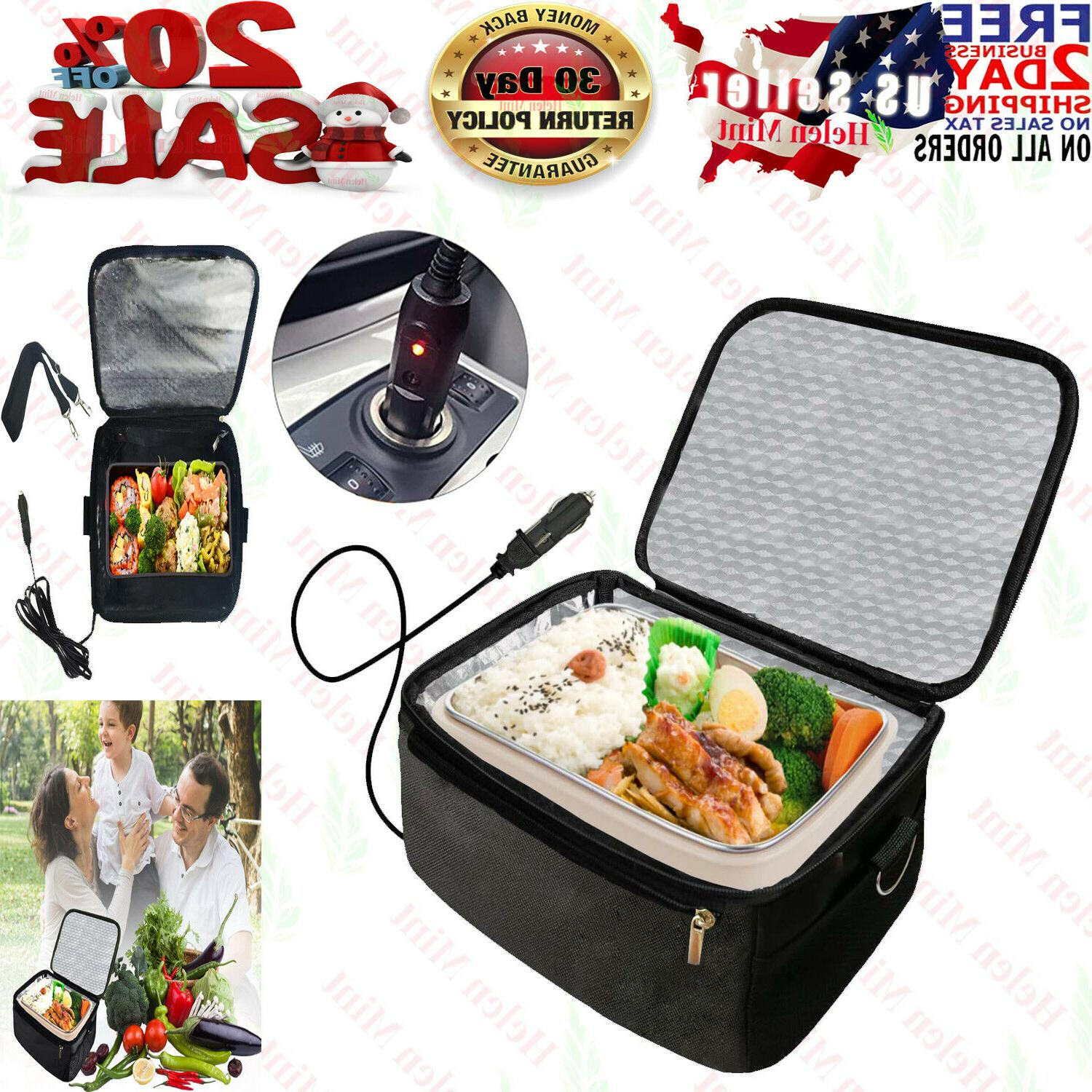 lunch box stove 12v portable car hot