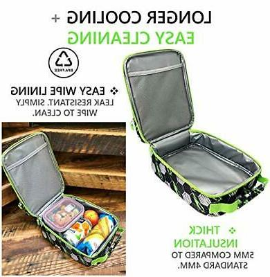 Lunch Box Pack for Kids Tweens Teens Insulated for