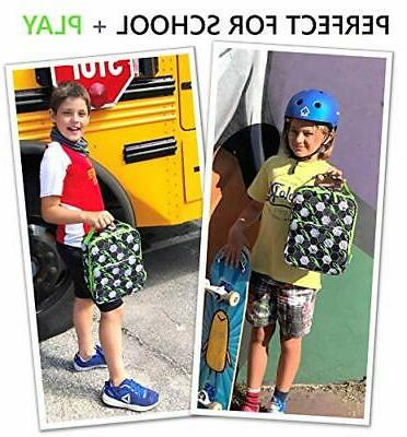 Lunch Box with Pack for Tweens Teens Insulated Bag for Elementa...