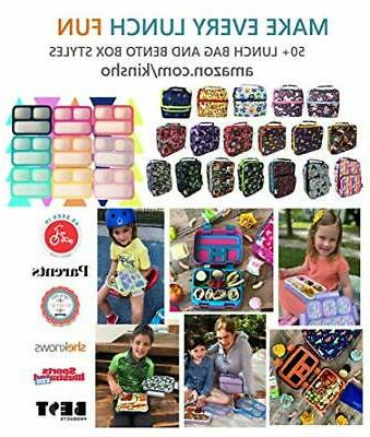 Lunch Box Pack for Tweens Insulated for Elementa...