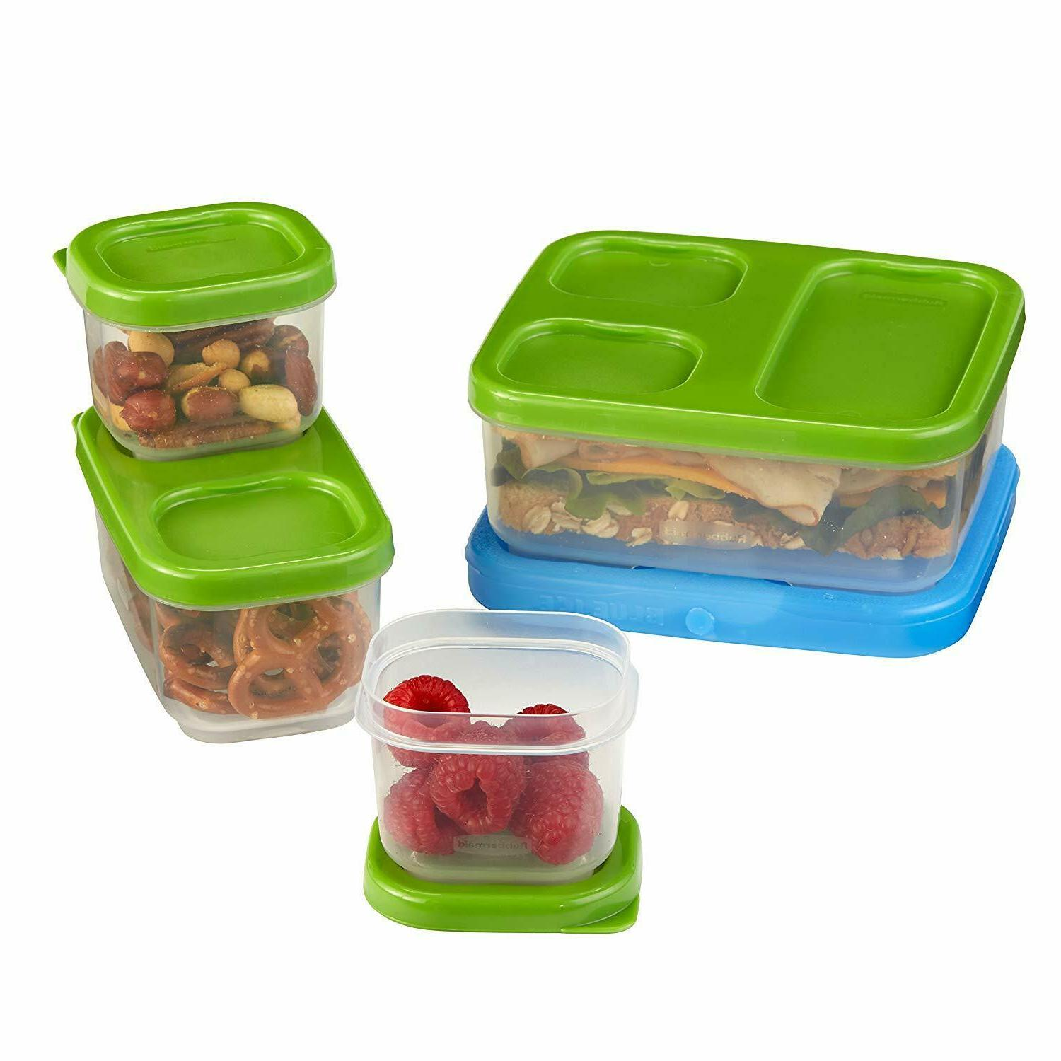 Rubbermaid LunchBlox Sandwich Kit Durable Lunch Containers