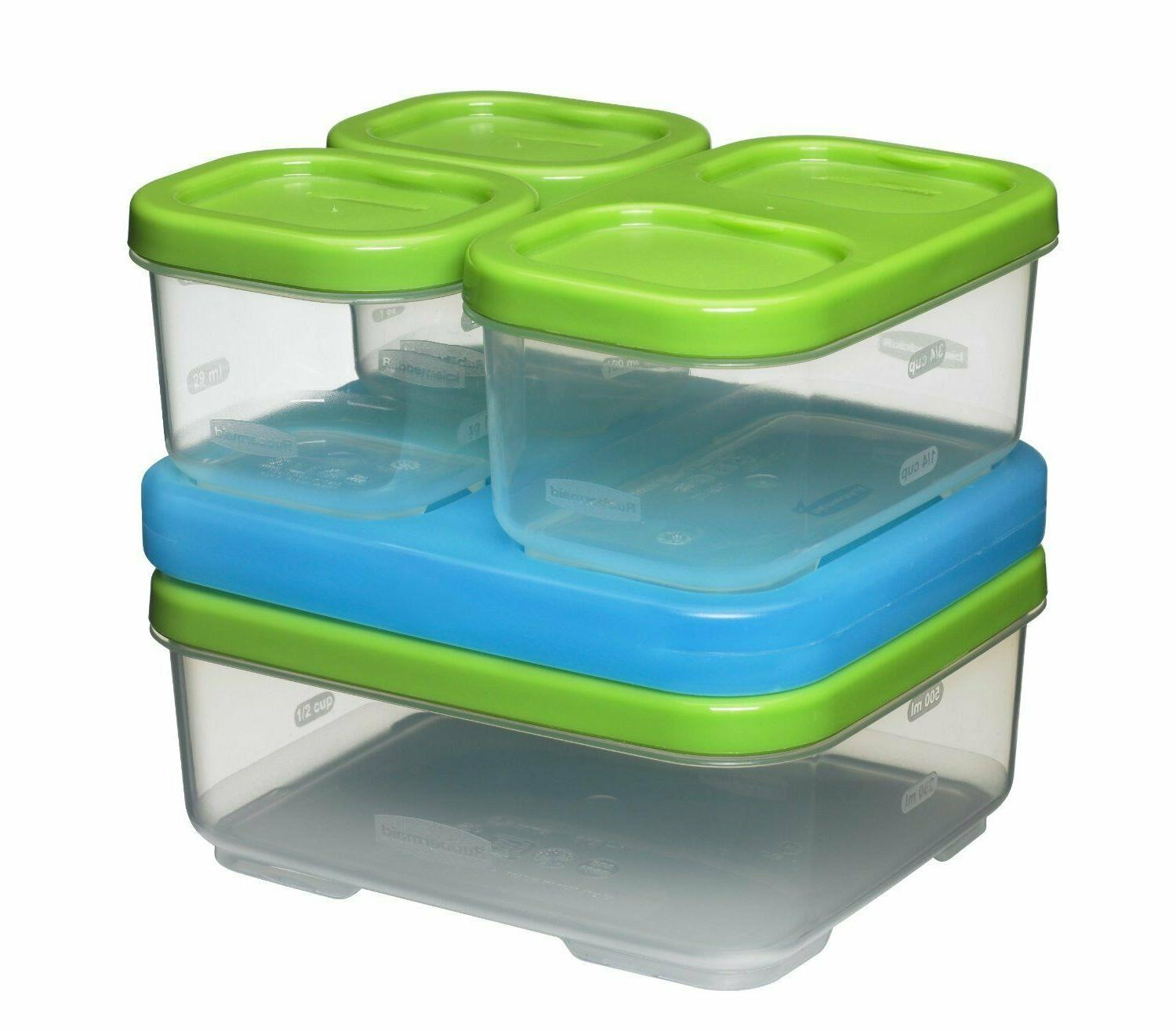 Rubbermaid Sandwich Durable Lunch Box Containers BPA Free