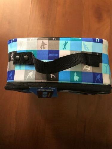 Fortnite Box Bag Silhouette Blue Tags