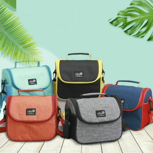 Insulated Thermal Mini Lunch Bag Girl School Adult Box Cooler