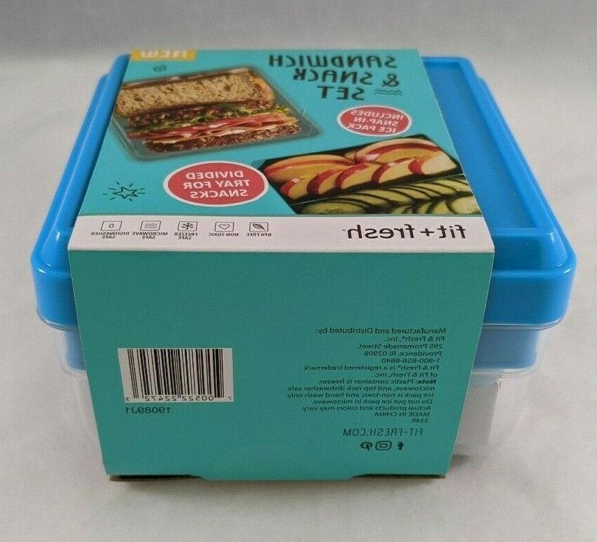 New Fresh Sandwich & With Ice 4 Piece Set