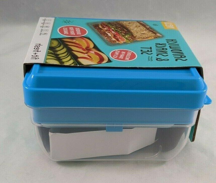 New Sandwich & With Ice Tray 4 Piece Set