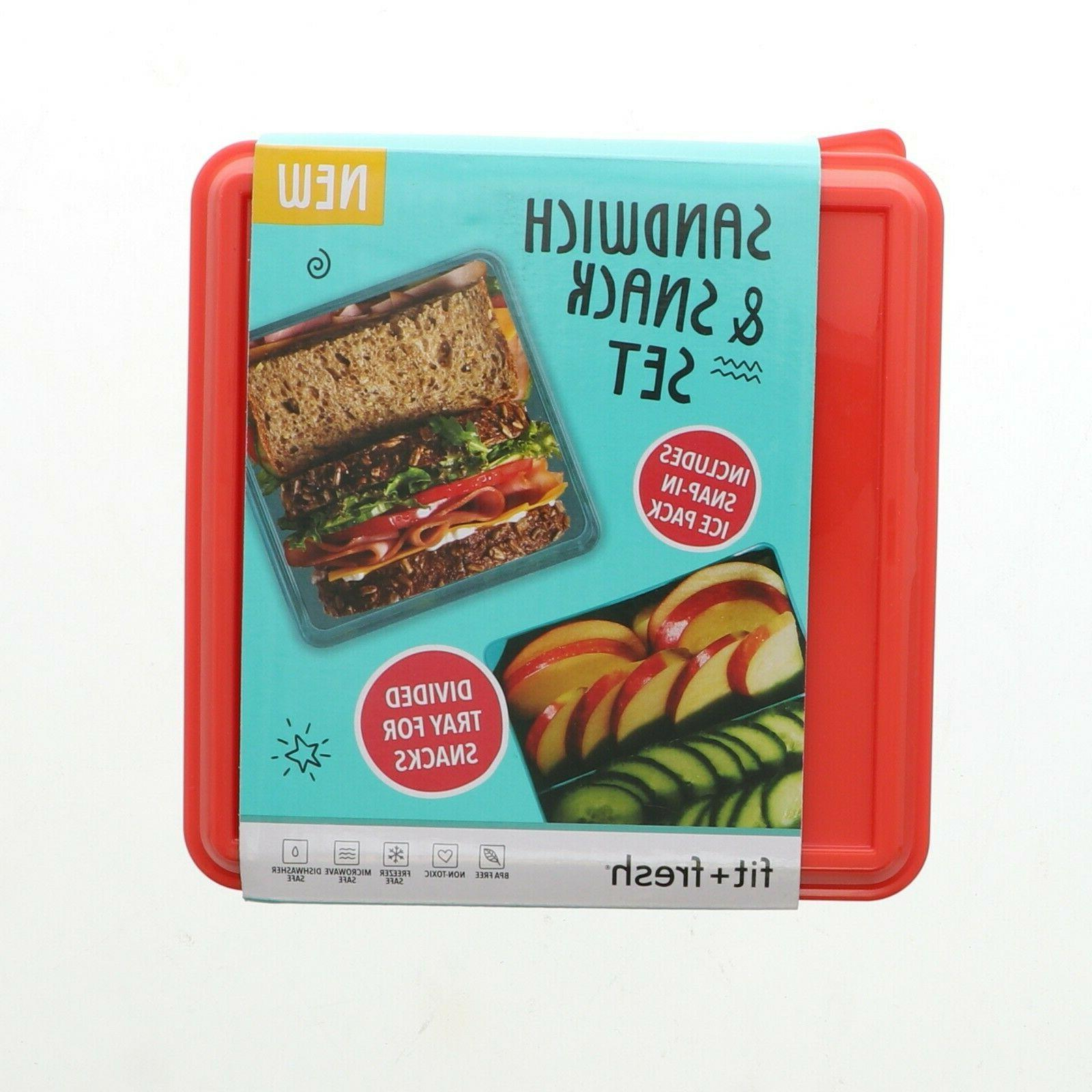 new fit fresh sandwich and snack