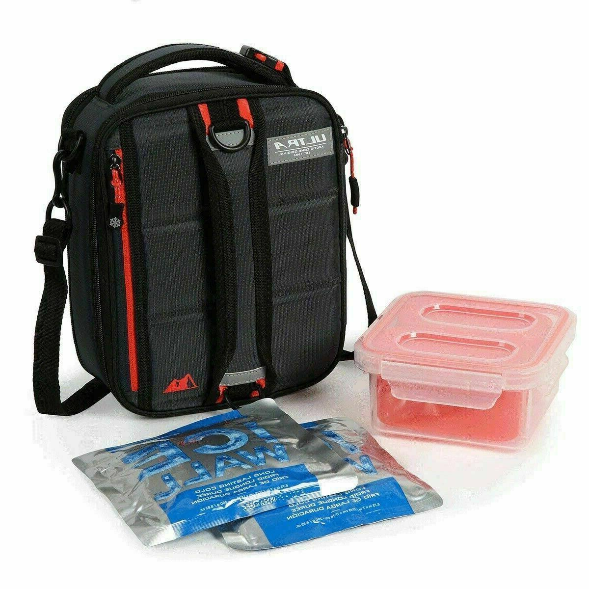 Arctic Zone Lunch Bag Combo Insulated Bag BPAFree Bottle ContainerIce Pack NWT