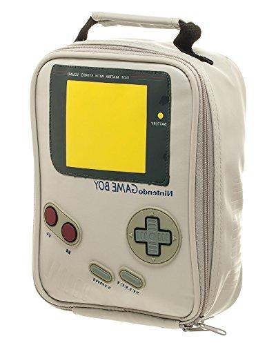 nintendo classic gameboy insulated lunch