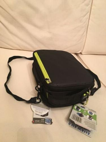 NWT Arctic Zone Black Lunch Box