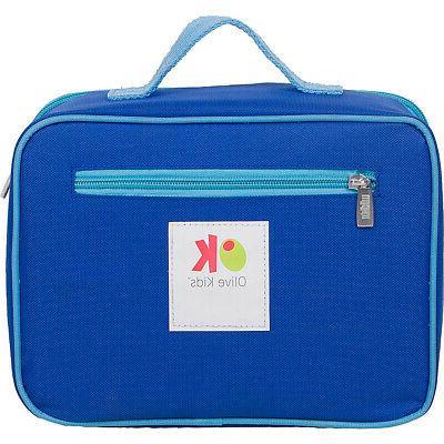 Wildkin Olive Kids Embroidered Lunch Box Kids Travel